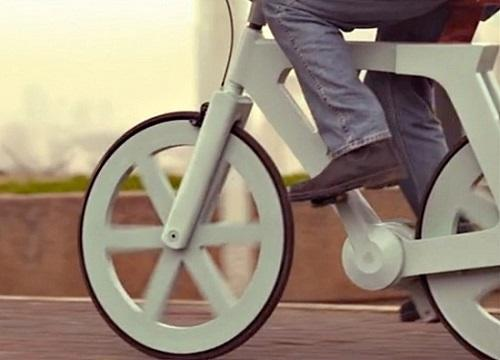 Le vélo en carton, une bicyclette pour tous
