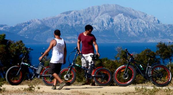 Location de vélos électriques à Tarifa - El Toro Verde
