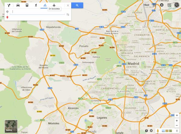 Comment trouver des parcours pour vélo avec Google Maps