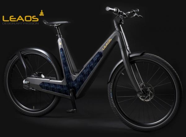 Vélos électriques Leaos: le design italien hautement technologique
