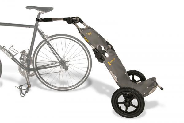 Burley Travoy: Remorque pliable et convertible pour vélos