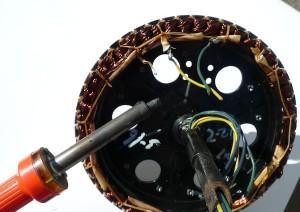 Réparation et amélioration des moteurs électriques