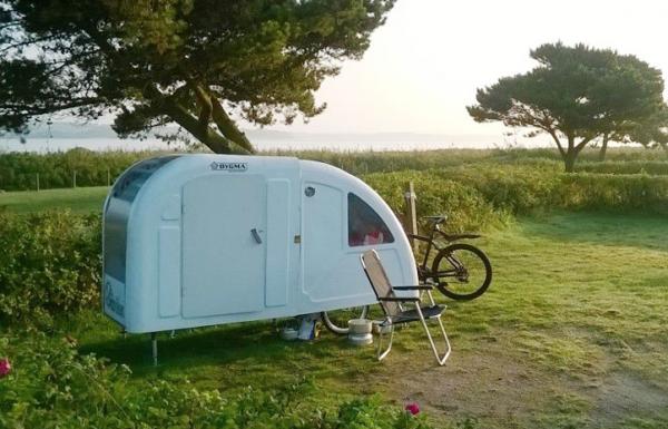 Caravane pliable PathCamper pour cyclistes
