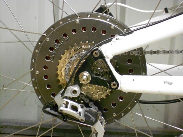 Modifier votre moteur de moyeu