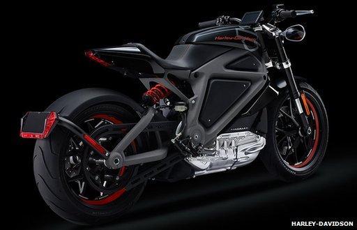 Moto électrique Harley Davidson