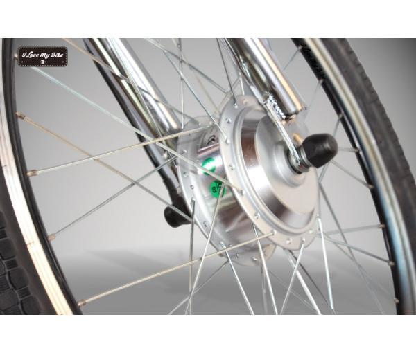 Les vélos à moteur hub dans le moyeu de roue