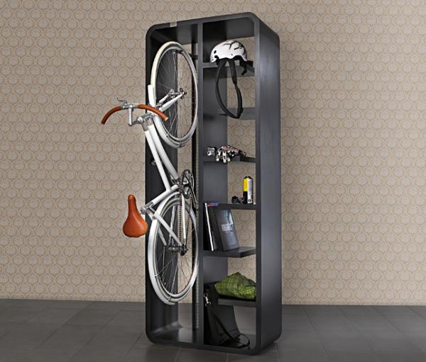 14 façons intelligentes et séduisantes de stocker votre vélo en intérieur