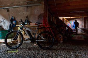 Vélo pourvu du système Monkey Link